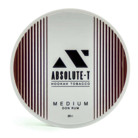 Табак Absolute-T Med 20гр Don Rum