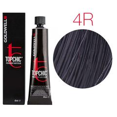 Goldwell Topchic 4R (темный махагон) - Cтойкая крем краска
