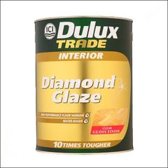 Лак для паркета Dulux DIAMOND GLAZE полуматовый (Прозрачный)