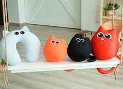 Подушка-игрушка антистресс «Кот Искра» 6