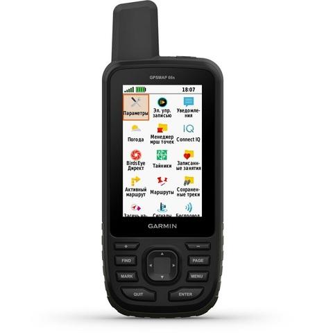 Туристический навигатор Garmin  GPSMAP 66ST GPS Глонасс Россия