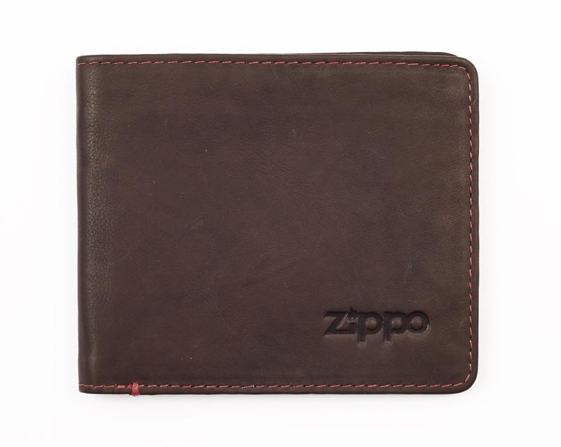 Горизонтальное кожаное портмоне ZIPPO 2005119