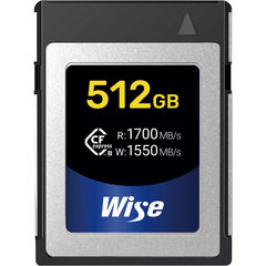 Карта памяти Wise Cfexpress B 512GB CFX-B 1700/1550 MB/s