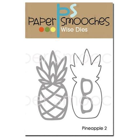 Набор ножей  Paper Smooches Dies -  Pineapple 2