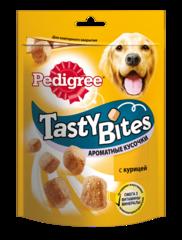 Pedigree Tasty Bites ароматные кусочки со вкусом курицы 130 г
