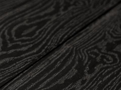 Террасная доска SW Salix (S) - тангенциальный распил. Черный цвет.