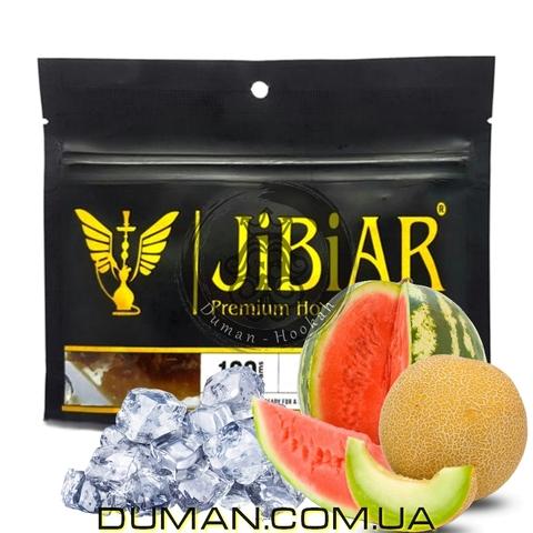 Табак JiBiAR Ice Watermelon Melon (Джибиар Лед Арбуз Дыня)