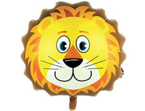 Фольгированный шар Львенок голова