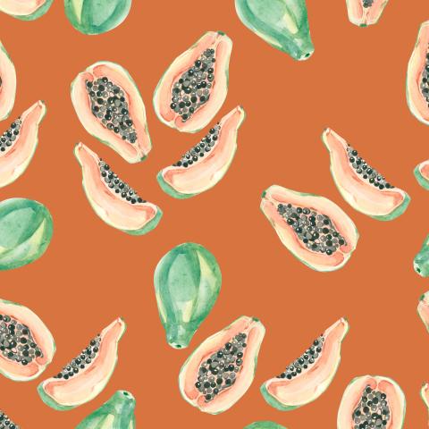 Сочная папайя