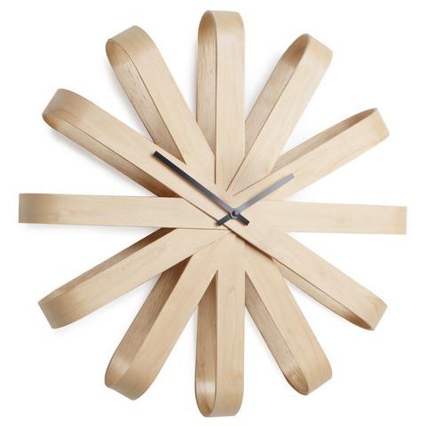 Часы настенные ribbon дерево