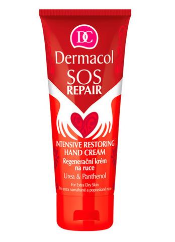 Dermacol Sos Intensive Restoring Hand Cream Регенерирующий крем для рук с карбамидом, пантенолом и маслом Ши, 75мл