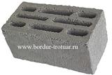 Блок бетонный восьми щелевой