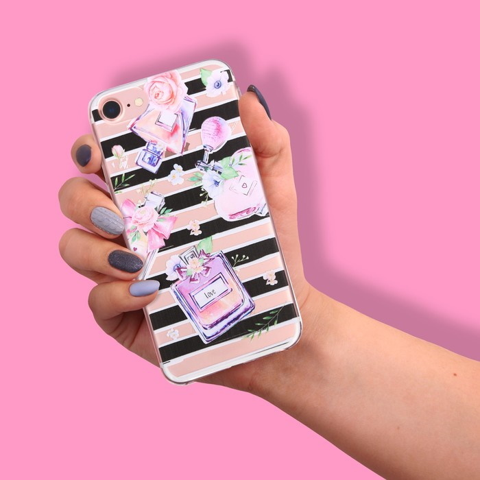 Чехол для телефона iPhone 7 Pretty girl фото