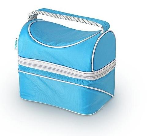 Термосумка Thermos для косметики Pop Top Dual (6,5 л.), голубая