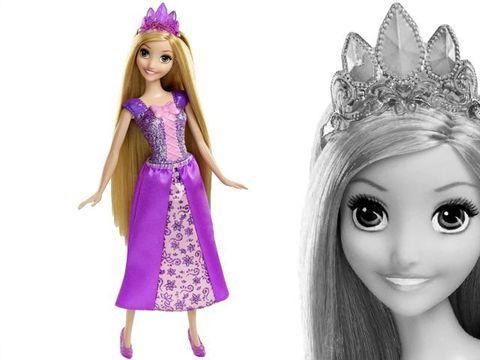 Кукла Рупунцель Блестящая принцесса, Дисней