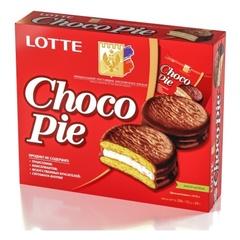 """Печенье """"LOTTE"""" Choco Pie 12шт"""