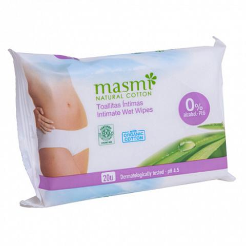Masmi, Влажные салфетки для интимной гигиены