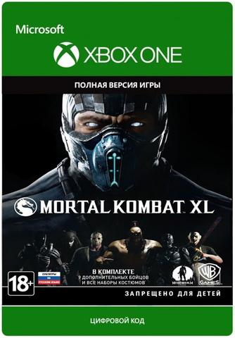 Xbox Store Россия: Xbox One Mortal Kombat XL (цифровой ключ, русские субтитры)