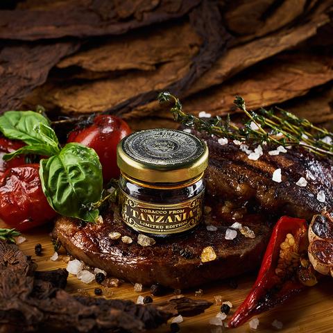 Табак WTO Tanzania Beef Grill (ВТО Танзания Мраморная Говядина Гриль) 20 г