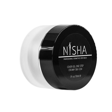 Гель камуфлирующий Nisha Cover Gel One Step Creamy Silk 30ml 204