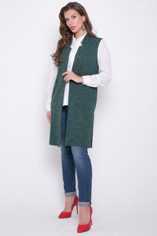 <p>Ультра модный удлиненный жилет с карманами.</p>