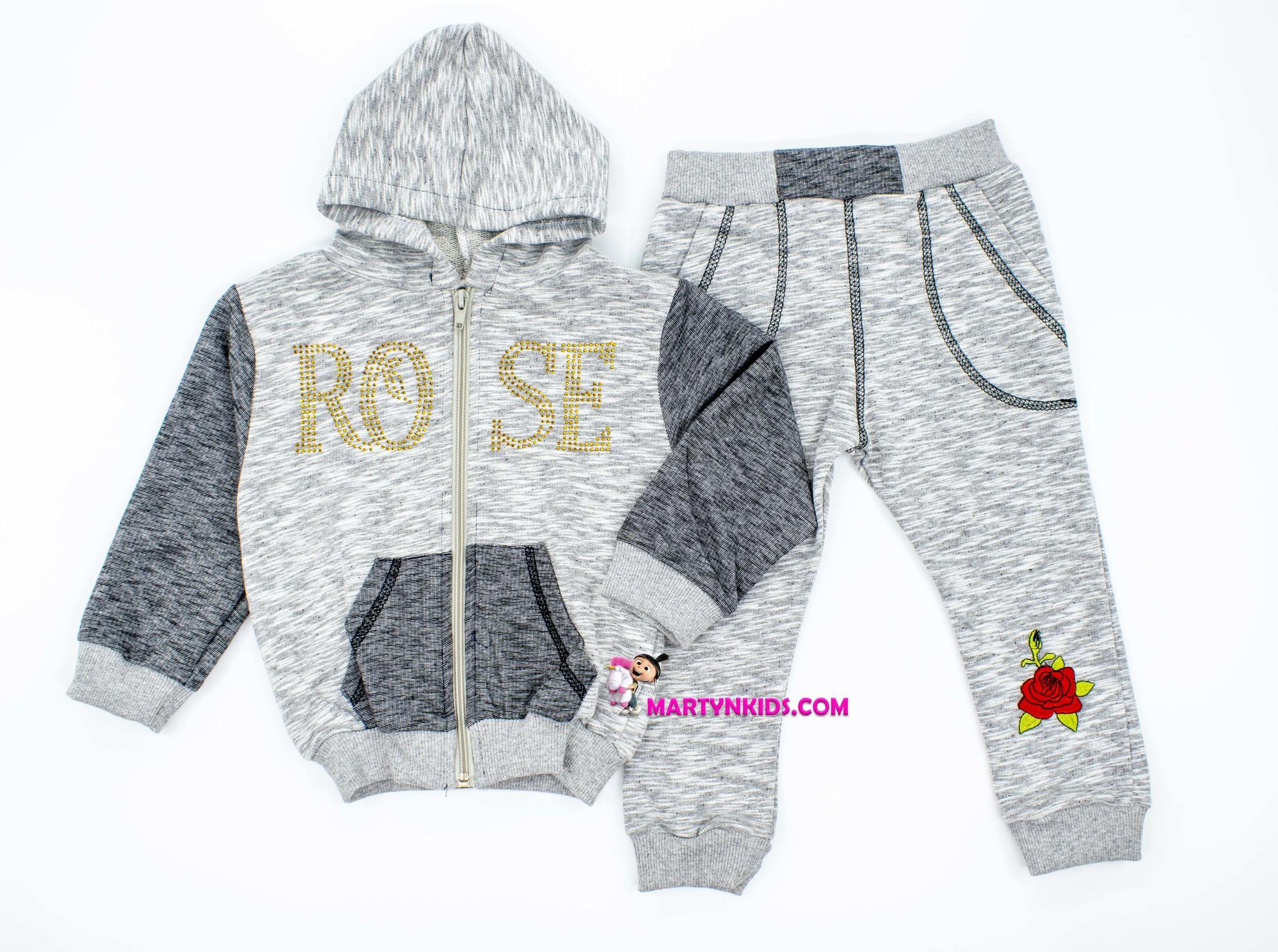 152 костюм роза
