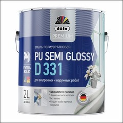 Эмаль полиуретановая Dufa PU SEMI GLOSSY D331 (Белый)