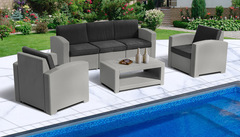 Комплект мебели IDEA LUX FIVE (Grey)