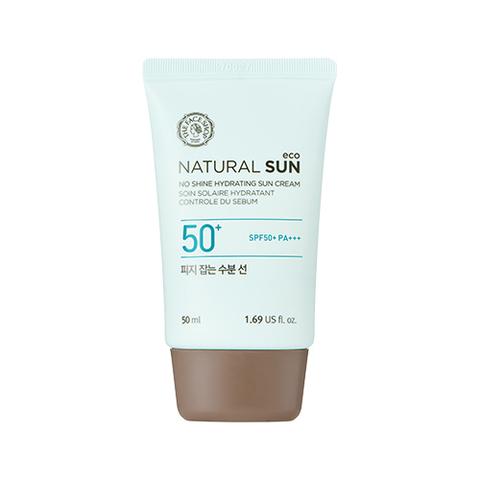 Солнцезащитное средство THE FACE SHOP Natural Sun Eco No Shine Hydrating Sun Cream 50ml