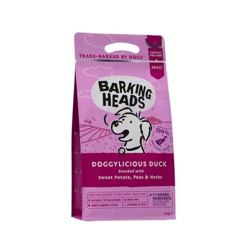 """Barking Heads Беззерновой корм для собак, BARKING HEADS Doggylicious Duck """"Восхитительная утка"""", с уткой и бататом взр_утка_2.jpg"""