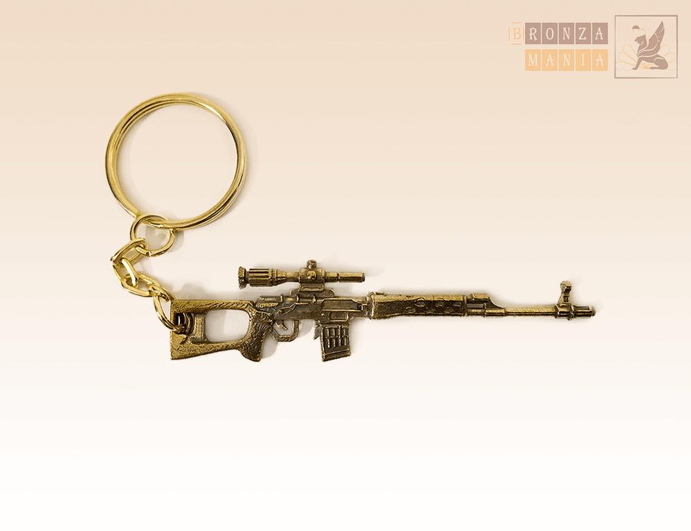 брелок СВД (Снайперская винтовка Драгунова)