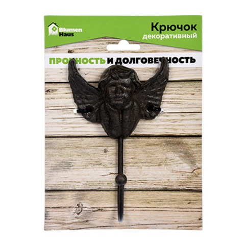 Крючок чугунный «Ангел»