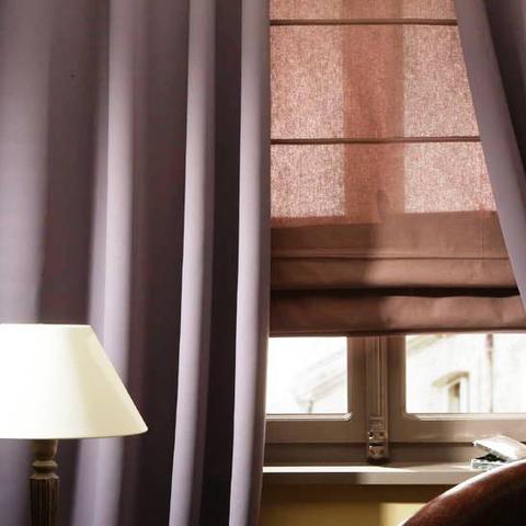 Портьера блэкаут однотонная - Светло сливовая. Ш-100/150/200 см., В-250/270 см. В упаковке - 2 шт. Арт. AF_27