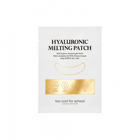 Патчи для глаз too cool for school Hyaluronic Melting Patch 8mg