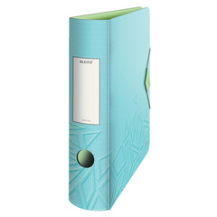 Папка-регистратор Leitz 180° UrbanChic 82 мм голубая