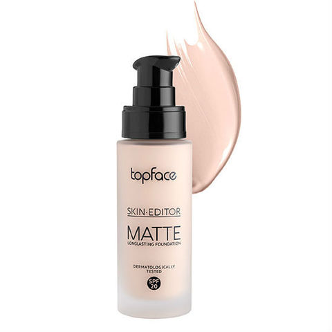 Тональная основа Skin Editor Matte, TopFace РТ 465 -01