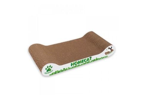 Homecat Когтеточка Мятная волна малая 45x25x10см