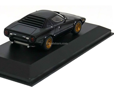 Lancia Stratos 1974 black Minichamps 1:43