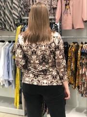 Блузка Kopka Шафран гобелен цветы