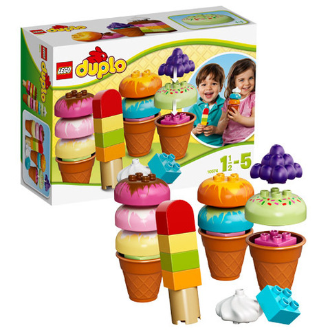 LEGO Duplo: Весёлое мороженое 10574 — Creative Ice Cream — Лего Дупло