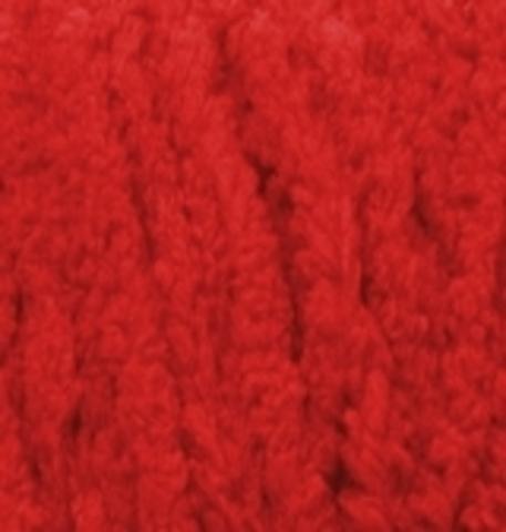 Пряжа Alize Softy Plus 56 красный