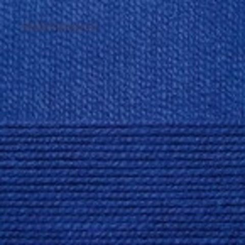 Пряжа Бисерная 491 Ультрамарин Пехорка, фото