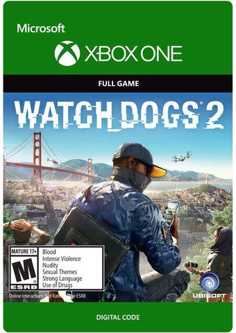 Xbox Store Россия: Watch Dogs 2 (цифровой ключ, русская версия)