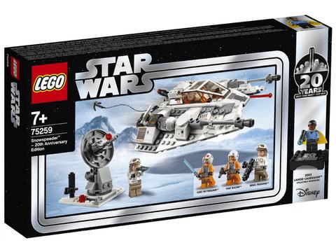 LEGO Star Wars: Снежный спидер: выпуск к 20-летнему юбилею 75259 — Snowspeeder – 20th Anniversary Edition — Лего Звездные войны Стар Ворз