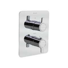 Встраиваемый термостатический смеситель для душа RS-Q 938712S на 2 выхода