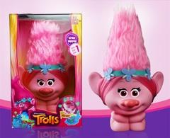 Тролли игрушка Розочка с подсветкой — Trolls toy Poopy Light