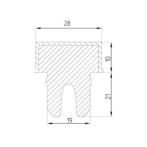 Т-образные коньячные пробки «19», 10 шт