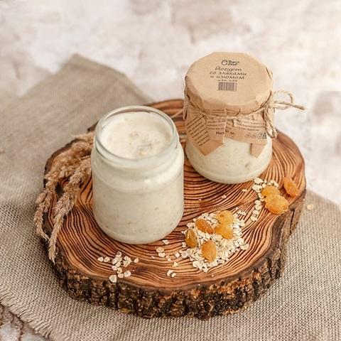 Йогурт со злаками и изюмом, 250 г
