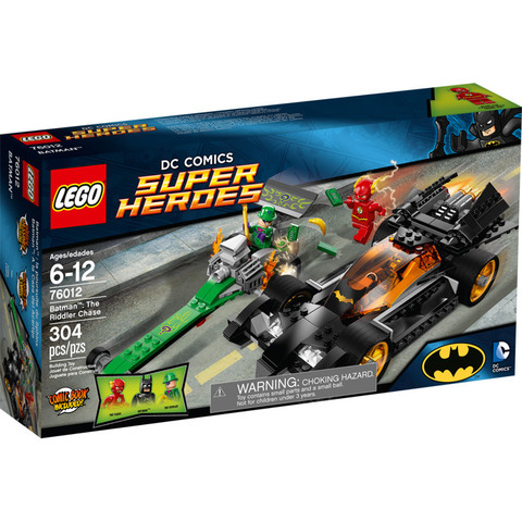 LEGO Super Heroes: Бэтмен: Погоня за Загадочником 76012 — Batman: The Riddler Chase — Лего Супергерои Marvel Марвел DC Comics комиксы