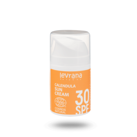 Levrana Солнцезащитный крем для лица и тела Календула 30SPF, 50мл